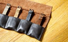 HODINKEE - Shop Luxury Timepiece Accessories - Leather Roll