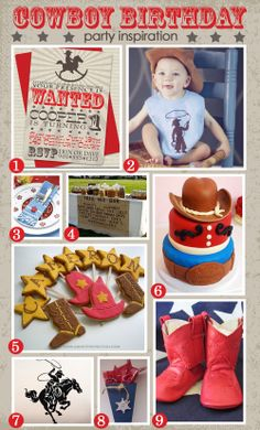 cowboy first birthday?