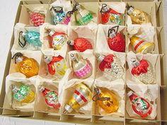 Vintage Weihnachtsdeko - 20 Formteile Christbaumschmuck shabby chic Deko - ein Designerstück von artdecoundso bei DaWanda