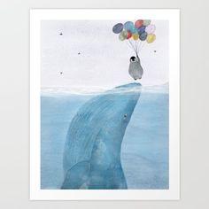 the little penguin gets a lift up...