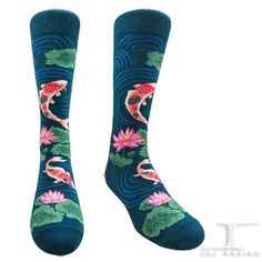 Waterworld -koi | JHJ Design - The Art of Wearing Socks