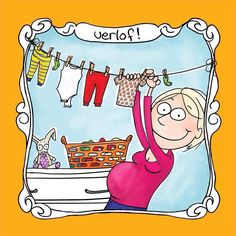 Preparing for a new arrival - Cartoon Collections Pregnancy Quotes, Blond Amsterdam, Print Magazine, Thank You Gifts, Babyshower, New Baby Products, Diy And Crafts, Disney Characters, Fictional Characters