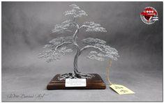 Wire Tree Sculpture, Sculpture Art, Bonsai Wire, Anniversary Gifts, Golden Color, Invitations, Invite, Larger, Copper