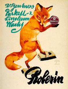 Werbung für Linoleum-Wachs, Ludwig Hohlwein