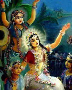Radha's meditation on Krishna Krishna Lila, Jai Shree Krishna, Radha Krishna Love, Hare Krishna, Lord Krishna Images, Radha Krishna Pictures, Sri Krishna Photos, Krishna Avatar, Radhe Krishna Wallpapers