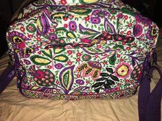 Vera Bradley Metropolitan Bag in Retired Viva La Vera   eBay