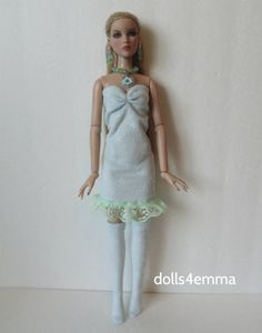 CAMI & ANTOINETTE clothes Handmade DRESS + THIGH HIGHS + JEWELRY Fashion NO DOLL | eBay