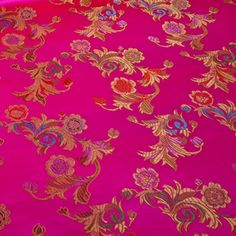 Fabric Store - Chinese Brocade - ML214517 - Fuschia