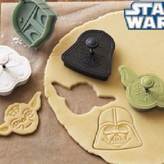 i'm sure you could use this on clay too, and make some star wars magnets or ornaments!