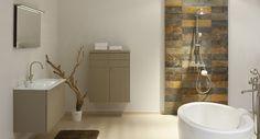 De Square Farm geeft uw badkamer een licht landelijke toets. De verticale belijning binnen het meubelfront trekt uw badkamer helemaal open. Met de zachte pasteltinten tovert u uw badkamer om tot een droomplek waar gewoon binnenkomen al ontspanning betekent. Met de juiste accessoires en aankleding wil u nooit meer weg.