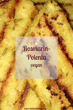 Polenta - Rosmarin - vegan - glutenfrei - einfach - Rezept - Beilage - italienisch - gesund - herzhaft Exactly what is the Paleo diet regime, Exactly what Chili Recipes, Seafood Recipes, Appetizer Recipes, Dinner Recipes, Polenta Vegan, Vegan Polenta Recipes, Italian Polenta, Vegan Recipes Easy, Italian Recipes