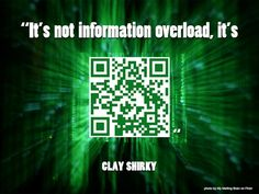 What's missing from these quotes? QR codes.  Cool poster idea. Could do with book quotes, too.