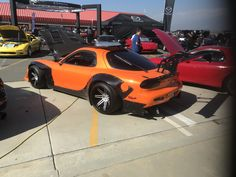 Christian's Mazda RX7 at Seven Stock 20