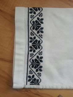 Cross Stitch Borders, Cross Stitch Rose, Stitch 2, Cross Stitch Charts, Cross Stitch Patterns, Embroidery Art, Cross Stitch Embroidery, Embroidery Designs, Palestinian Embroidery