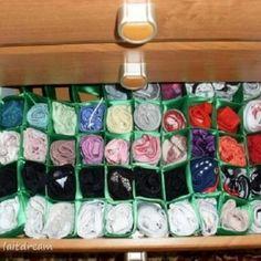 Аккуратное хранение белья