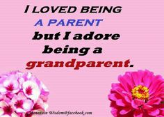 We adore being a grandparents : )