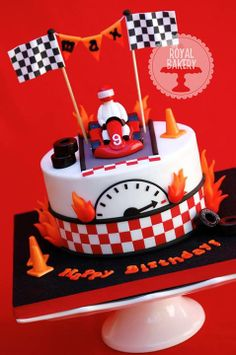 Race Car Cake - Royal Bakery