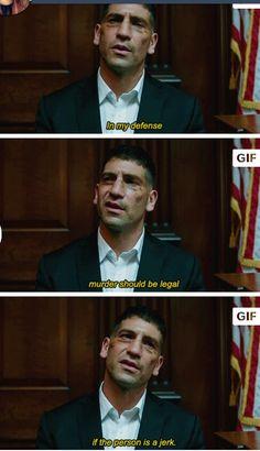 Frank Castle // The Punisher - Daredevil Marvel Dc, Marvel Comics, Captain Marvel, Daredevil Punisher, Daredevil Funny, Netflix Daredevil, Frank Castle Punisher, Dc Memes, Marvel Series