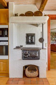 Swedish vedspis / range cooker.