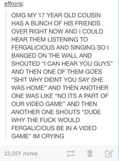 Fergalicious definitious make them boys go loco hahahahaha