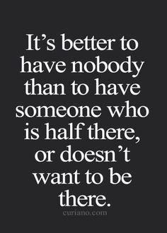 have nobody