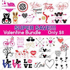 A personal favourite from my Etsy shop https://www.etsy.com/sg-en/listing/571311797/valentine-bundle-svg-arrow-heart-svg