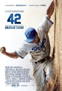 42 (2013) | Morning Movie, Wheatfield Library | Thursday July 25 @ 10 am | Rated PG-13, open to all interested adults / DeMotte Library Sept. 12