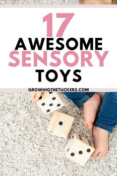 Sensory development is super important for your little one. These sensory toys are great for babies to help develop as they grow.