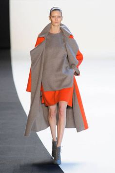Akris Fall 2014 Ready-to-Wear Runway - Akris Ready-to-Wear Collection colourblock