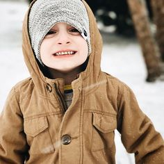 Slouch beanies for big kids!