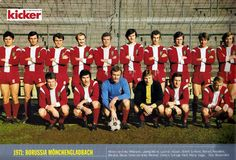 Borussia VfL 1900 e.V. Mönchengladbach, 1971.