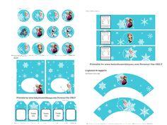 Για όλους τους φανατικούς οπαδούς της ταινίας Frozen ένα ακόμα υπέροχο δωρεάν εκτυπώσιμο σετ από το Baby Shower Ideas