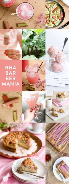 Rhabarbermania, verliebt in Rhabarber viele Rezepte auf feiertaeglich.de