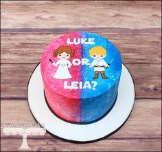 Baby Gender Reveal Cake :-)