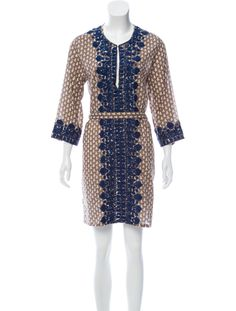Figue Lightweight Embroidered Dress - Clothing - WFI21889 | The RealReal