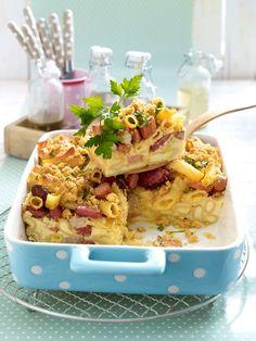 Es muss nicht immer das teure Lachsfilet oder die feinen Trüffel-Pasta sein. Rigatoni mit Zucchini, Paprika, Pesto und Chilibrösel