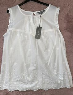 Cami, Size 14, Vest, Brand New, Summer Dresses, Tank Tops, Sleeves, Color, Women