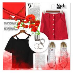 """""""Shein 9"""" by mini-kitty ❤ liked on Polyvore featuring Converse, Alexander Wang and shein"""