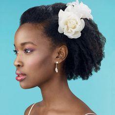 Nice Wedding Hairstyle for Black Women