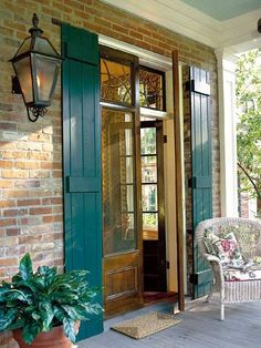 exterior shutters for front door - Want them to function