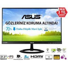 Asus 21.5 VX229H LED IPS Monitör 5ms Siyah