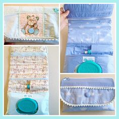 Kit Higiene do Bebê para Menino.