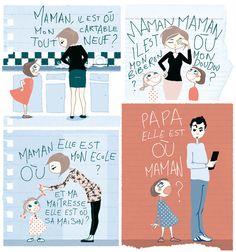 Ce dessin est paru dans le numéro de septembre 2013 du Madame Figaro Pocket by Anne BD