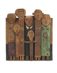The spectators by Marisol Escobar