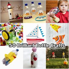 50 Brilliant Bottle Crafts