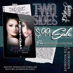 M. Robinson: 2 DAYS LEFT TO GET TWO SIDES, TWO BOOKS FOR #99CEN...