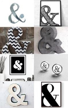 AMPERSAND by JO on Etsy--Pinned with TreasuryPin.com