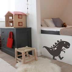 Friendly Dino Dinosaur Wall Sticker Decal