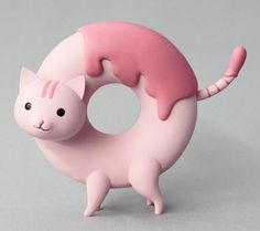Cat + Donut + Japanese Randomness = Donut Cats