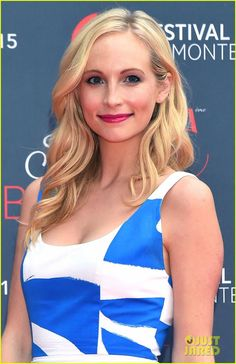 Candice Accola at Monte Carlo TV Festival